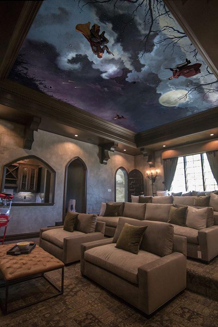 חדרי קולנוע פרטיים - בסגנון הארי פוטר