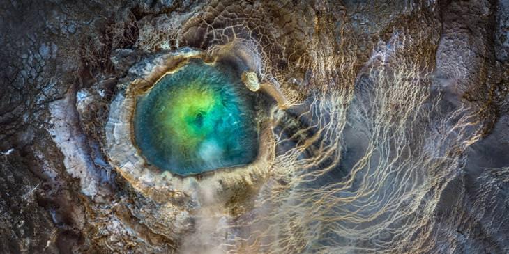 תחרות צילום פנורמי 2020: פני שטח שדומים לעין דרקון