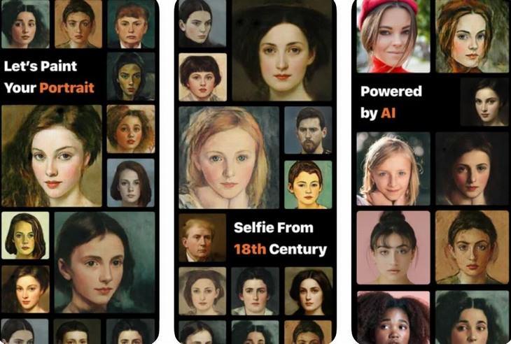 אפליקציות מצלמה מגניבות: PortraitAI