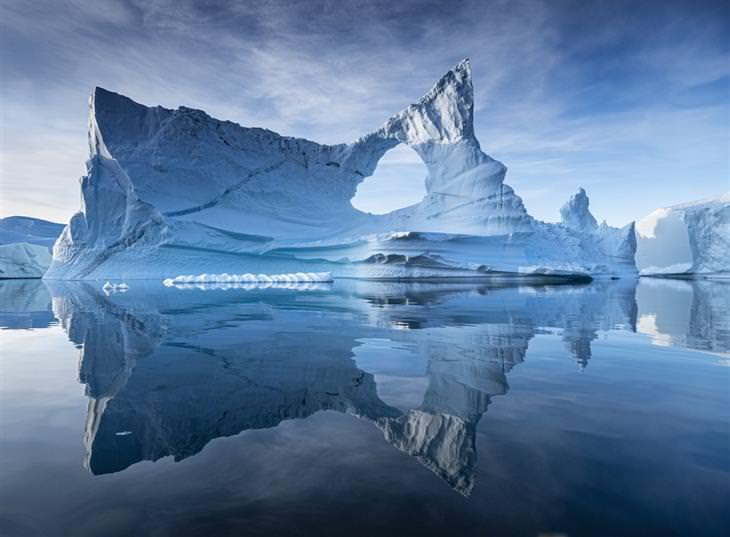 תחרות צלם הנופים של שנת 2020: קרחון