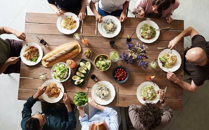 מבחן אישיות נשיאות ארצות הברית: ארוחה משפחתית