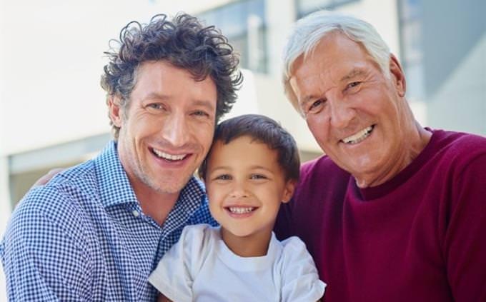 מבחן סבא וסבתא עתידיים: סבא, אבא וילד