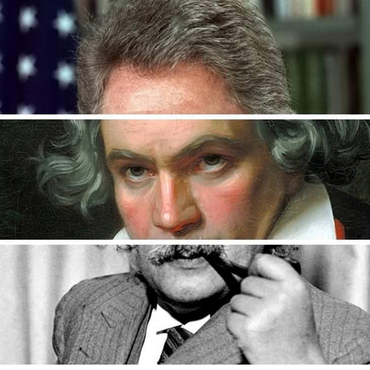 פרצופים מבולגנים של מפורסמים