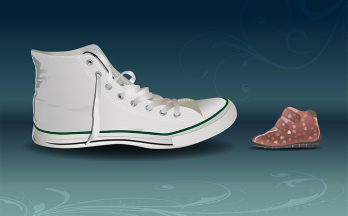 מבחן קשר לאני פנימי: נעליים