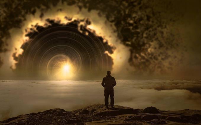 מבחן קשר לאני פנימי: אדם מול נוף קסום