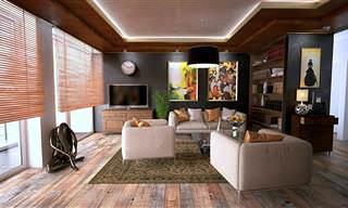 אוסף כתבות ארגון הבית: חדר סלון מעוצב