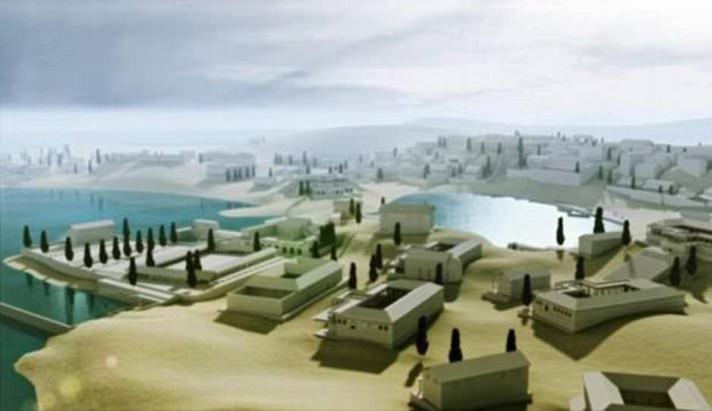 העיר האבודה באיה: שחזור של מראה העיר