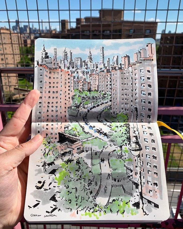 ציורים של ניו יורק: ציור של לואר איסט סייד