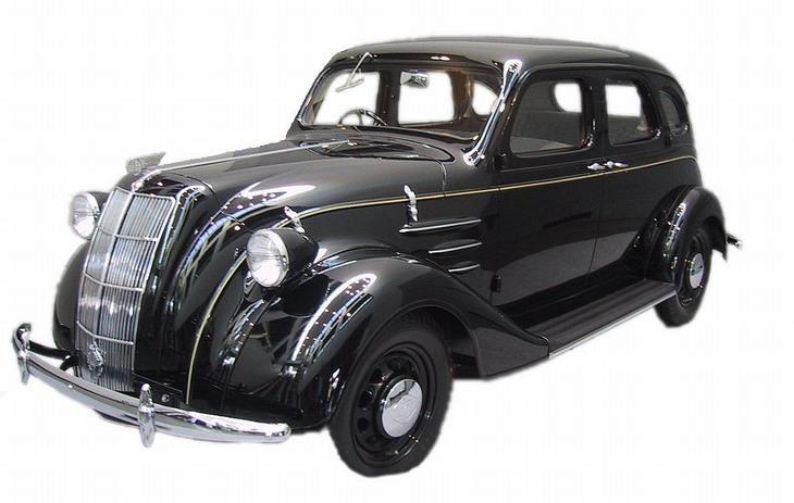 המכוניות הראשונות של יצרני כלי רכב ידועים: A1 טויוטה