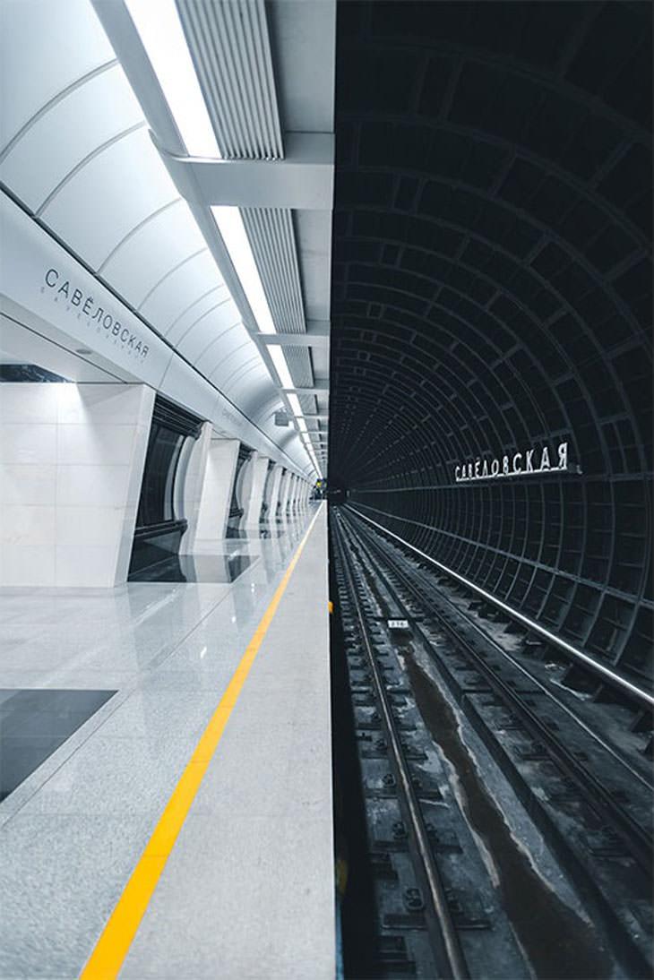 תמונות מתחרות אמנות הבנייה: תחנת מטרו