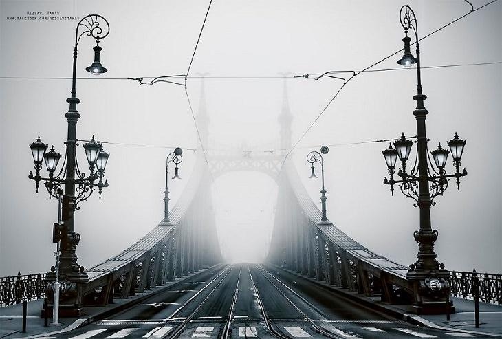 ערים אירופאיות ריקות בימי משבר הקורונה: בודפשט