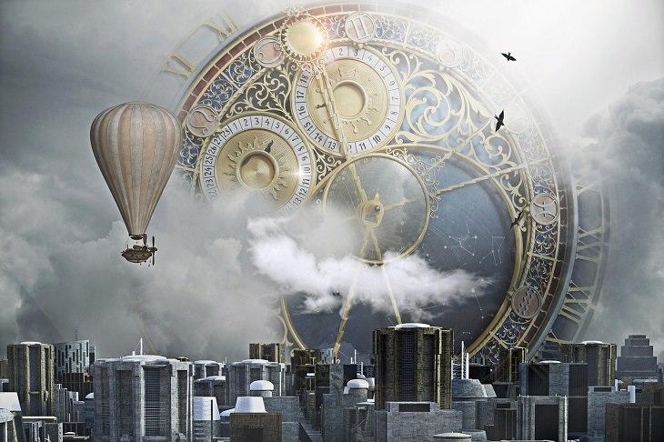 סרטי המדע הבדיוני הטובים ביותר: איור של סצנה עתידנית