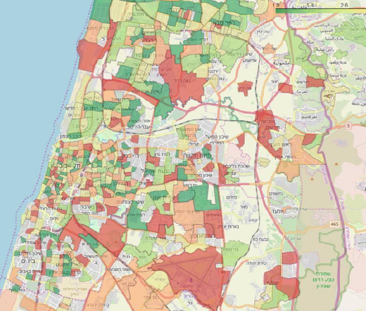 מחקר של מכון ויצמן אודות הקורונה: מפת המחקר