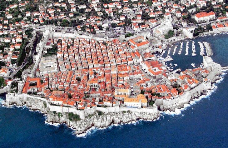 אתרים מומלצים בדלמטיה, קרואטיה: דוברובניק