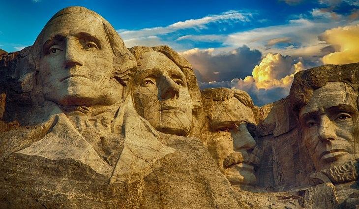 עובדות על מנהיגים: הר ראשמור שבארצות הברית