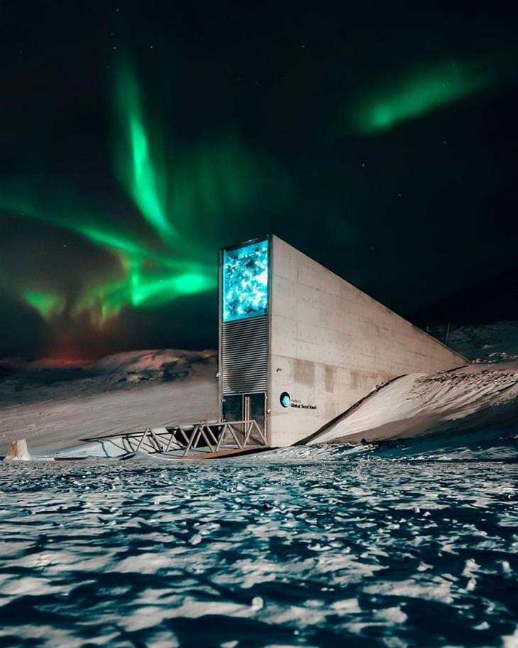 תמונות אוויר מדהימות: האי שפיצברגן - נורווגיה
