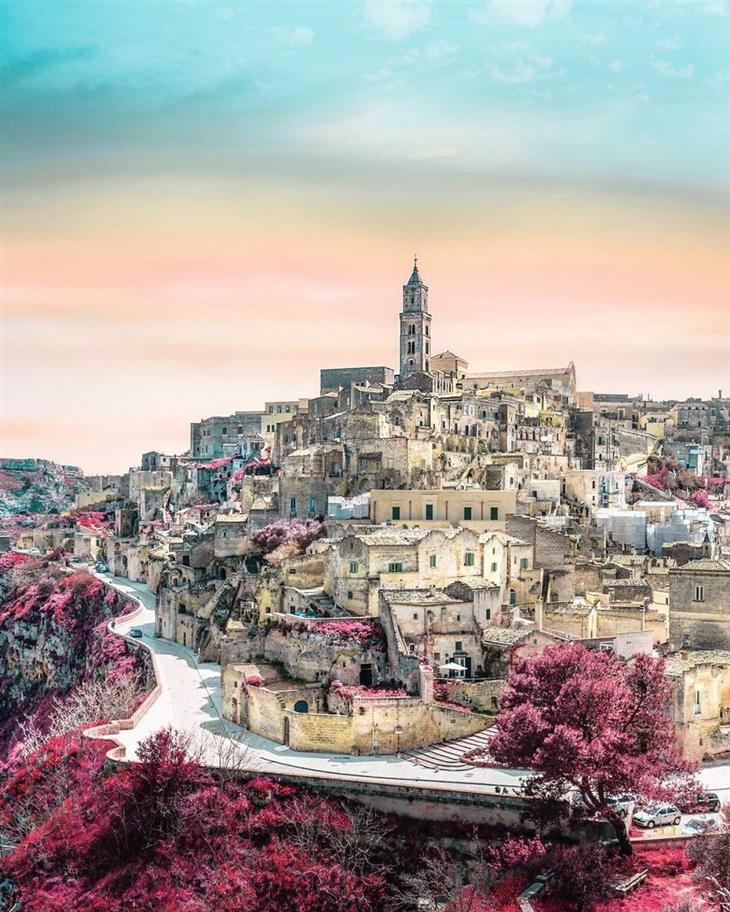 תמונות אוויר מדהימות: מטרה - איטליה