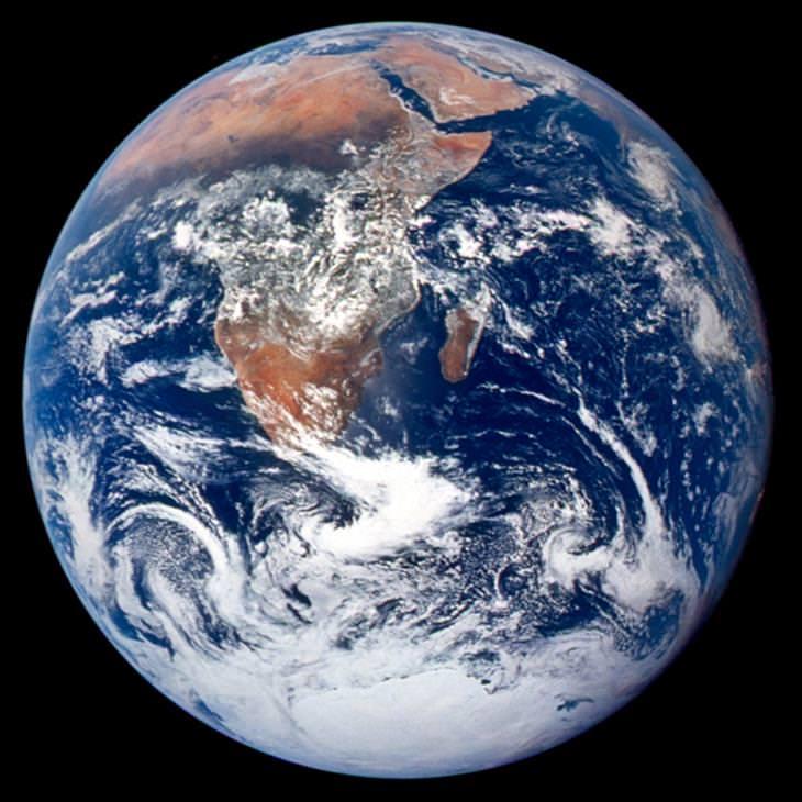 תמונות חלל מדהימות: כדור הארץ