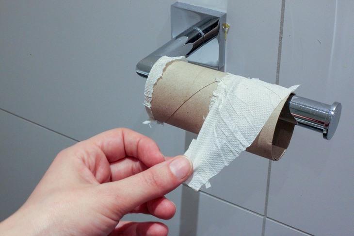 סדר פסח קורונה: גליל נייר טואלט שנגמר