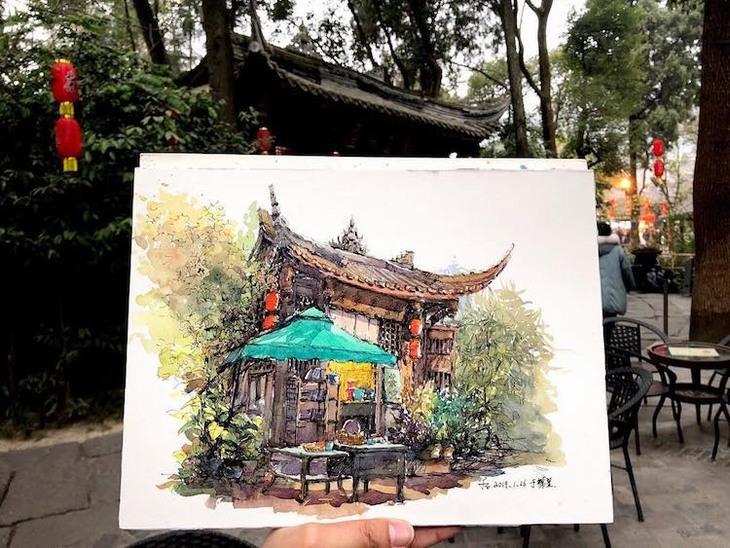 ציורי מקומות מרחבי העולם