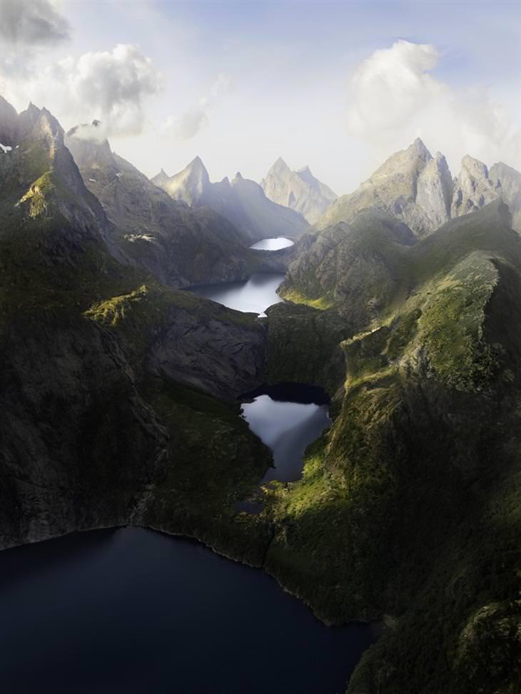 נופי טבע: ארבע אגמים בין גבעות