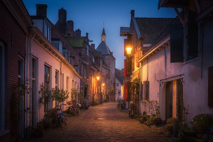 תמונות של הולנד: רחוב בעיר אמרספורט