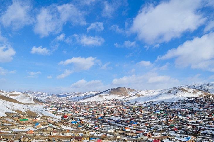 הערים, העיירות והישובים הכי קרים בעולם: אולן בטור, מונגוליה