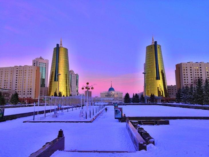 הערים, העיירות והישובים הכי קרים בעולם: אסטנה, קזחסטן