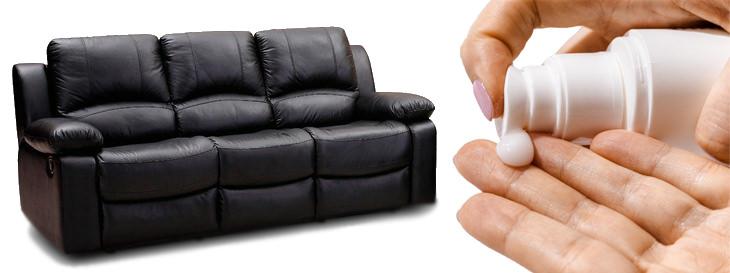 דברים שאפשר לעשות עם מוצרי טיפוח: יד עם קרם וספה