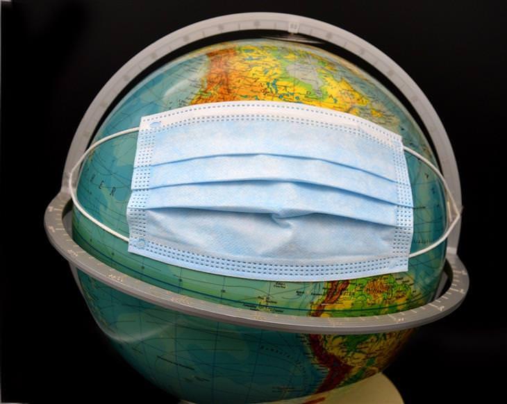 מידע על רמדסיביר: גלובוס עם מסכה כירורגית