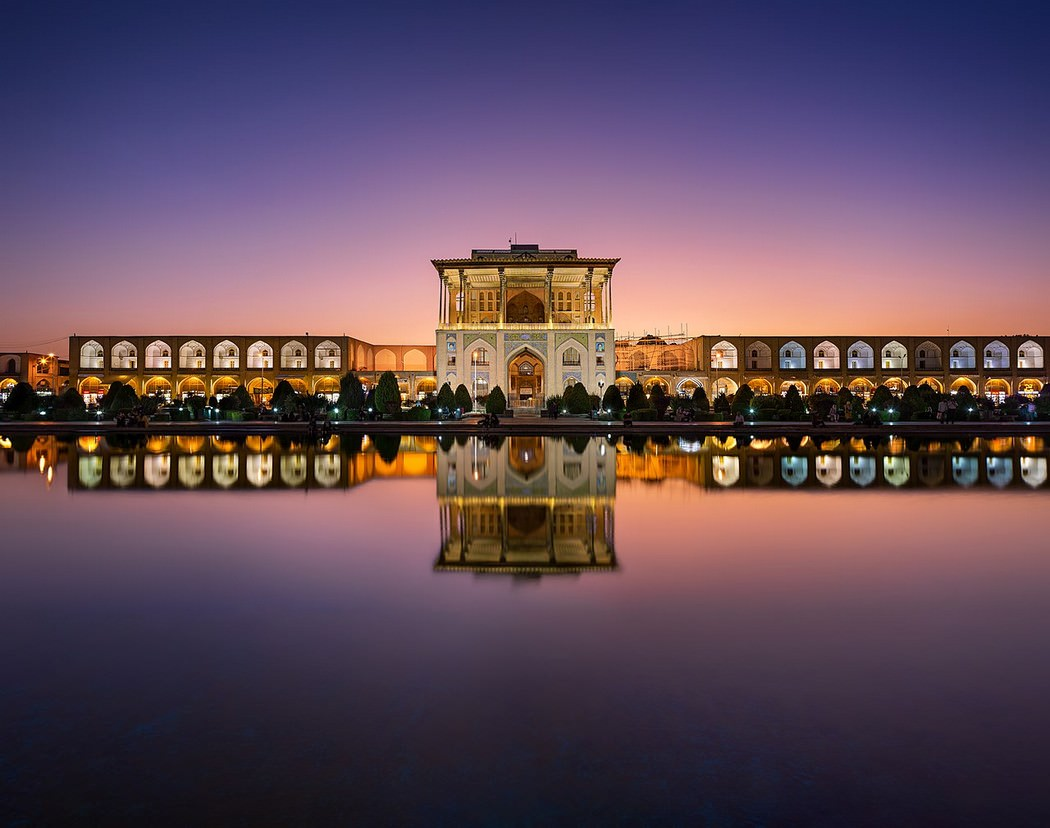 La Plaza Imam de Isfahán, registrada como Patrimonio de la Humanidad