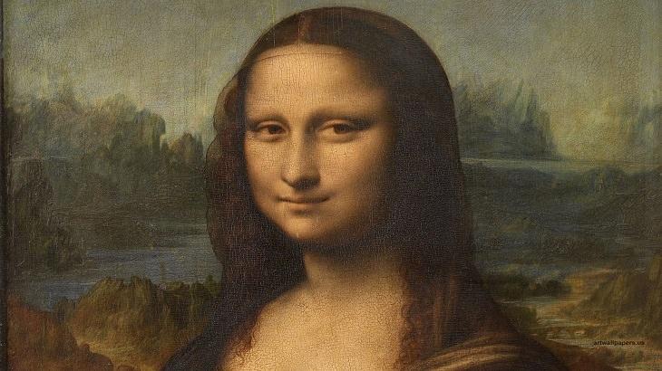 רקעים של יצירות אמנות למחשב ולסמארטפון: מונה ליזה