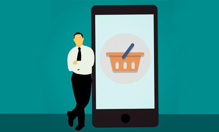 סקירת טלפונים מומלצים 2020: איור של איש עומד ליד סמארטון