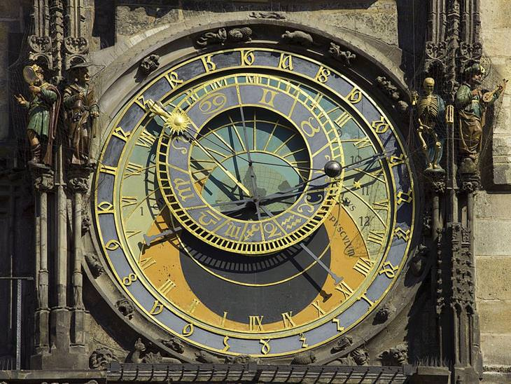 השעון האסטרונומי בפראג: השעון האסטרונומי של פראג