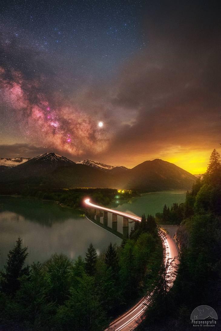 תמונות יפות בחשיפה ארוכה: אגם סיבנשטיין - גרמניה