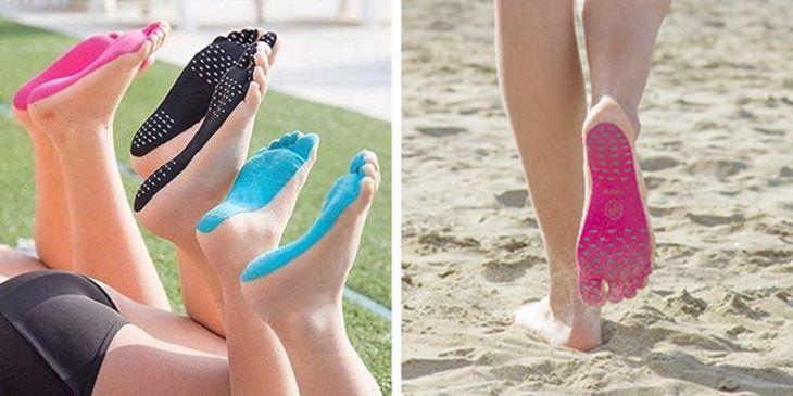 המצאות שנועדו להקל על חיינו: מדבקות כף רגל