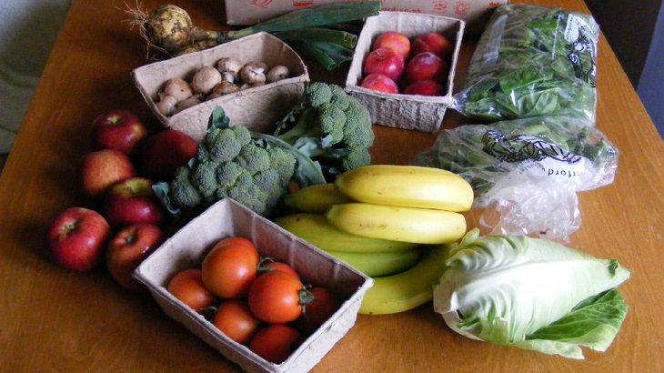 פיתוח יזכרון צילומי: ירקות על שולחן