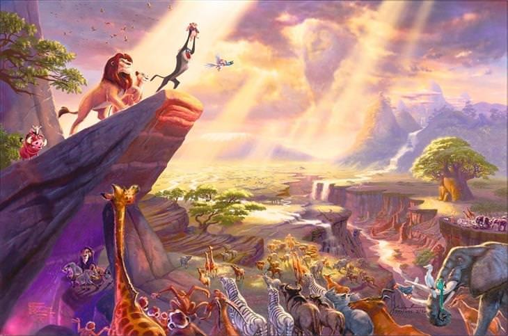 ציורים של דיסני: מלך האריות