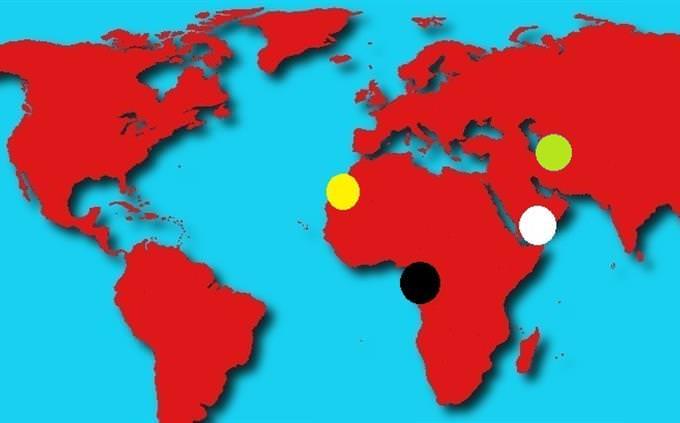 מבחן גיאוגרפיה: מפה