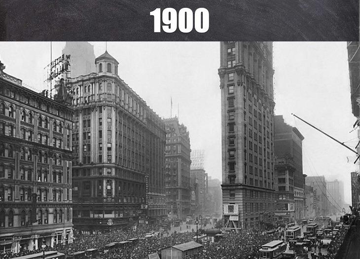 תמונות היסטוריות של מקומות בעולם