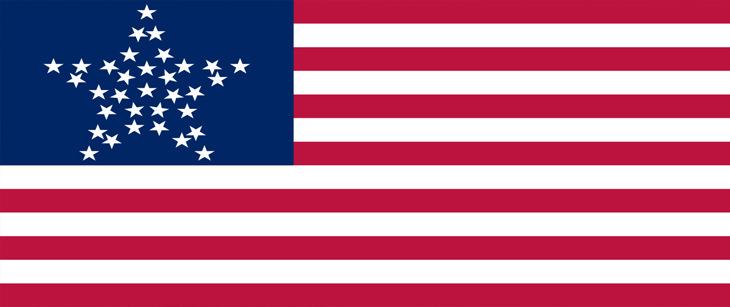 """עובדות על ארצות הברית: דגל ארה""""ב"""