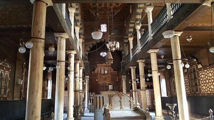 בתי הכנסת העתיקים בעולם: בית הכנסת בן עזרא