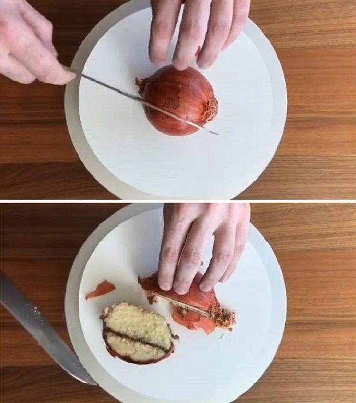 עוגות שלא נראות כמו עוגות: עוגה בצורת בצל