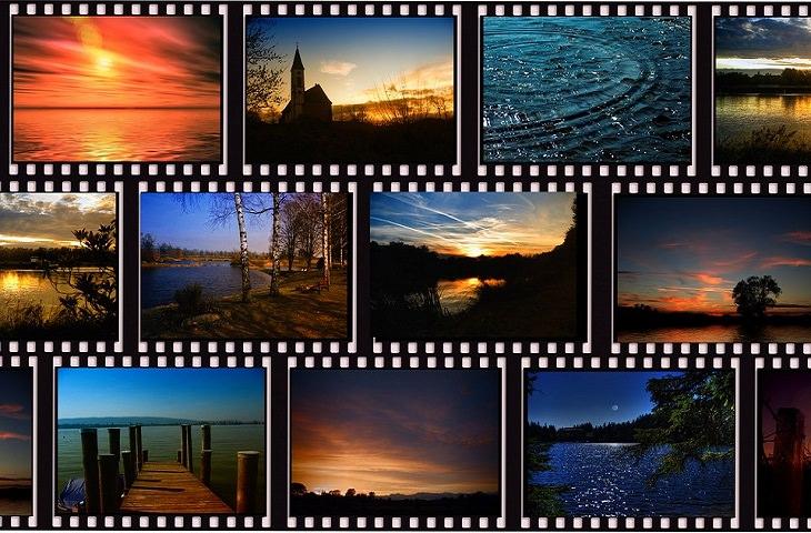 עובדות על סרטים אהובים: סרט פילם עם תמונות עליו