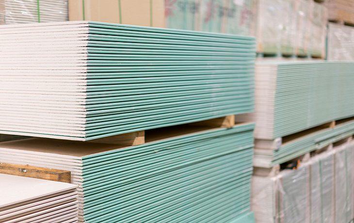 בנייה בגבס: לוחות גבס