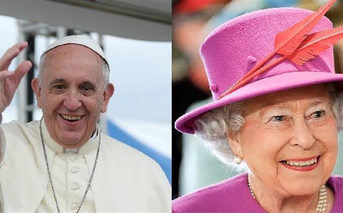 מבחן מי נולד קודם: אליזבת השנייה, האפיפיור פרנציסקוס