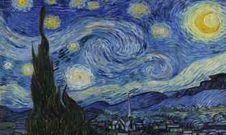מבחן מצא את ההבדלים: ליל כוכבים של ואן גוך