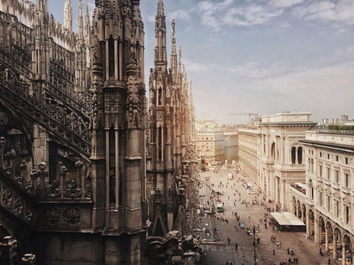 תמונות מתחרות צילום דרך אייפון: קתדרלת מילאנו