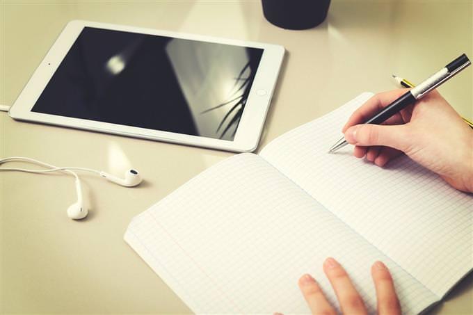 מבחן סיכונים בחיים: יד כותבת
