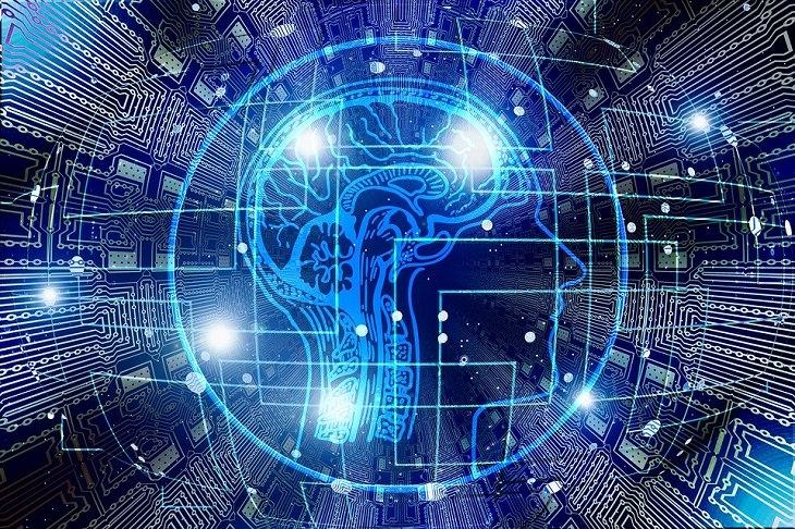 דופמין: ציור של ראש עם מוח